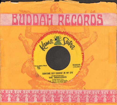 Innocence - Someone Got Caught In MY Eye/Your Show Is Over (with company sleeve) (bb) - VG7/ - 45 rpm Records