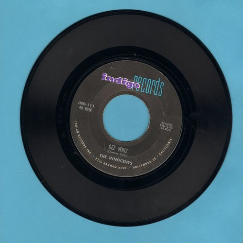 Innocents - Gee Whiz/Please, Mr. Sun  - VG7/ - 45 rpm Records