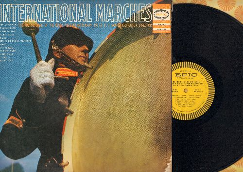 Marine Band Of The Royal Netherlands Navy - International Marches: Strike Up The Band, Viscount Nelson, Death Or Glory, Amparito Roca (vinyl MONO LP record) - NM9/VG6 - LP Records