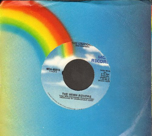 Irish Rovers - The Unicorn/Whiskey On A Sunday (with MCA company sleeve) - EX8/ - 45 rpm Records