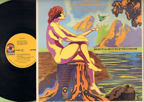 Iron Butterfly - Metamorphosis: Esy Rider, Butterfly Bleu, Free Flight, Soldier In Our Town (vinyl STEREO LP record, gate-fold cover) - EX8/EX8 - LP Records