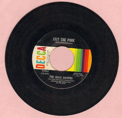 Irish Rovers - Lily The Pink (We Drink, Drink, Drink)/Mrs. Crandall's Boardinghouse  - VG7/ - 45 rpm Records
