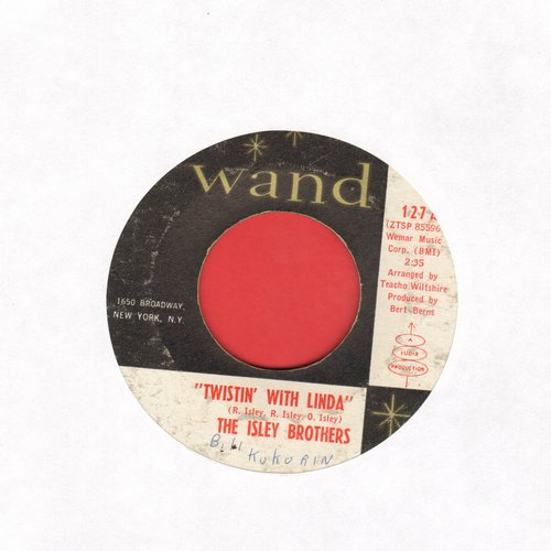Isley Brothers - Twistin' With Linda/You Better Come Home  - VG7/ - 45 rpm Records