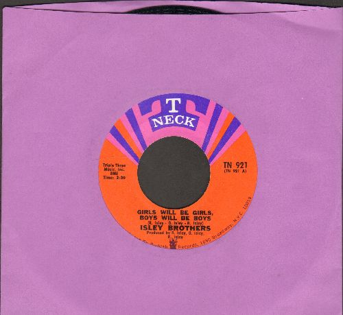 Isley Brothers - Girls Will Be Girls, Boys Will Be Boys/Get Down Off Of The Train - NM9/ - 45 rpm Records