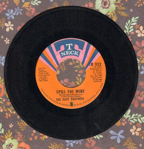 Isley Brothers - Spill The Wine/Take Inventory - EX8/ - 45 rpm Records