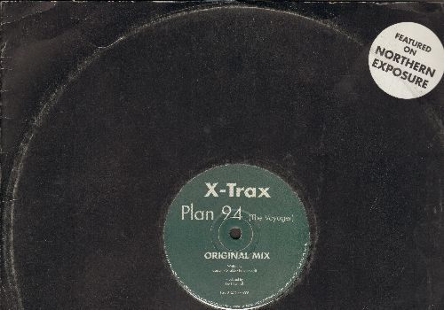 X-Trax Plan 94 - Pied Piper (Featured on Cult TV Series - Northern Exposure-) (Limited Edition one-sided Maxi Single) - EX8/ - LP Records