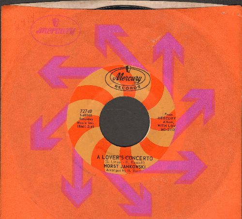 Jankowski, Horst - A Lover's Concerto/A Man And A Woman (with Mercury company sleeve) - NM9/ - 45 rpm Records