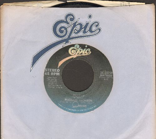 Jackson, Michael - Beat It/Get On The Floor (with Epic company sleeve) - VG7/ - 45 rpm Records