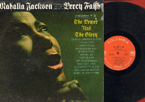 Jackson, Mahalia - The Power And The Glory: Holy Holy Holy, The Lord Is My Light, Onward Christian Soldiers, Rock Of Ages (vinyl MONO LP record) - VG7/VG7 - LP Records