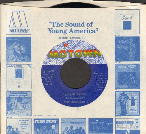 Jackson 5 - Sugar Daddy/I'm So Happy (MINT condition with Motown company sleeve) - M10/ - 45 rpm Records