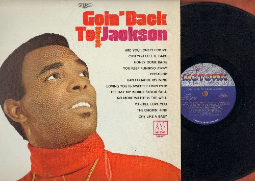 Jackson, Chuck - Coin' BackTo Chuck Jackson: Cry Like A Baby, Are You Lonely For Me, Honey Come Back, The Day The World Stood Still (vinyl STEREO LP record) - VG7/EX8 - LP Records