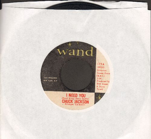 Jackson, Chuck - Soul Brother's Twist/I Need You - EX8/ - 45 rpm Records