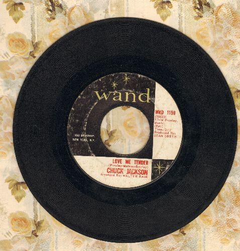 Jackson, Chuck - Love Me Tender/Hound Dog - VG7/ - 45 rpm Records