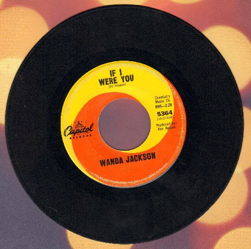 Jackson, Wanda - If I Were You/My Baby's Gone - VG6/ - 45 rpm Records
