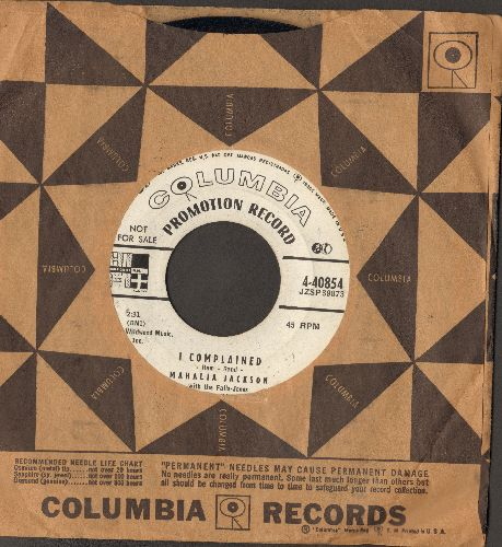 Jackson, Mahalia - I Complained/God Is Good (DJ advance pressing with vintage Columbia company sleeve) - NM9/ - 45 rpm Records