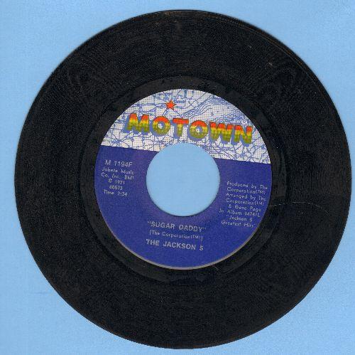 Jackson 5 - Sugar Daddy/I'm So Happy - NM9/ - 45 rpm Records