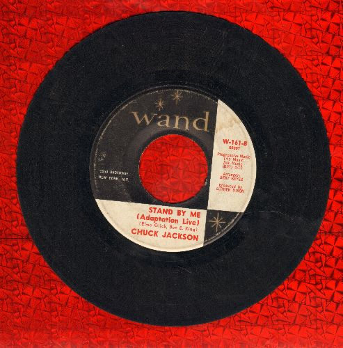 Jackson, Chuck - Stand By Me (Adaptation Live)/Somebody New - VG7/ - 45 rpm Records