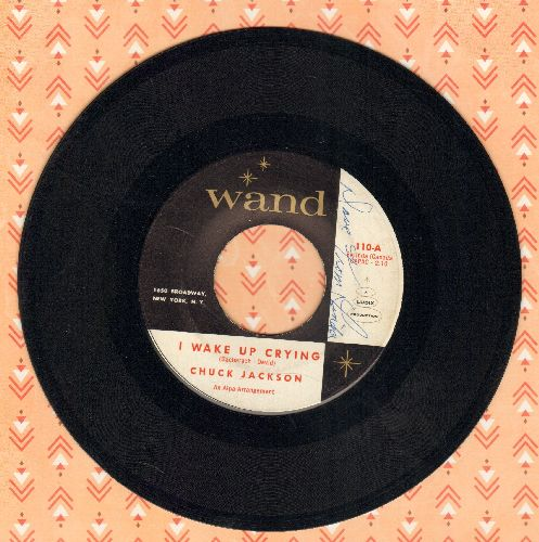 Jackson, Chuck - I Wake Up Crying/Everybody Needs Love (minor wol) - EX8/ - 45 rpm Records