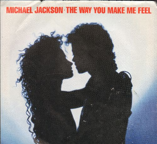 Jackson, Michael - The Way You Make Me Feel/The Way You Make Me Feel (Instrumental) (with picture sleeve) - NM9/EX8 - 45 rpm Records