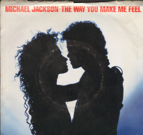Jackson, Michael - The Way You Make Me Feel/The Way You Make Me Feel (Instrumental) (with picture sleeve) - EX8/VG6 - 45 rpm Records