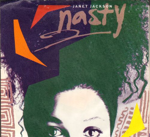Jackson, Janet - Nasty/You'll Never Find (A Love Like Mine) (with picture sleeve) - EX8/EX8 - 45 rpm Records
