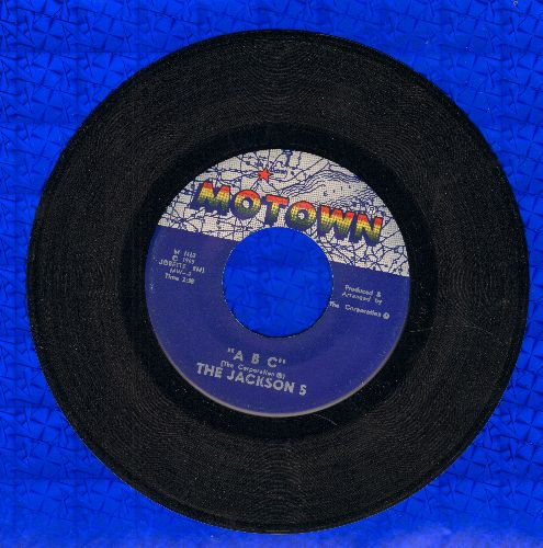 Jackson 5 - ABC/The Young Folks (minor wol) - EX8/ - 45 rpm Records