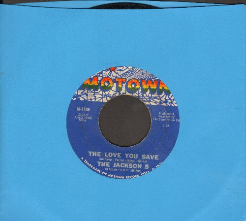 Jackson 5 - The Love You Save/I Found That Girl  - VG7/ - 45 rpm Records