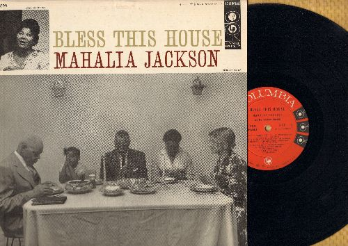 Jackson, Mahalia - Bless This House: Trouble With The World, The Lord's Prayer, Precious Lord, By His Word (vinyl MONO LP record, red label, 6 eyes) - NM9/EX8 - LP Records