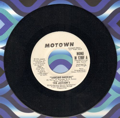 Jackson 5 - Dancing Machine/It's Too Late To Change The Time (DJ advance pressing) - NM9/ - 45 rpm Records