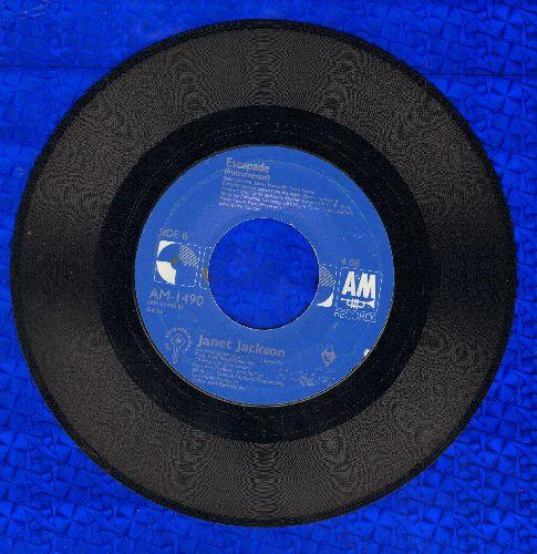 Jackson, Janet - Escapade/Escapade (Instrumental) - NM9/ - 45 rpm Records