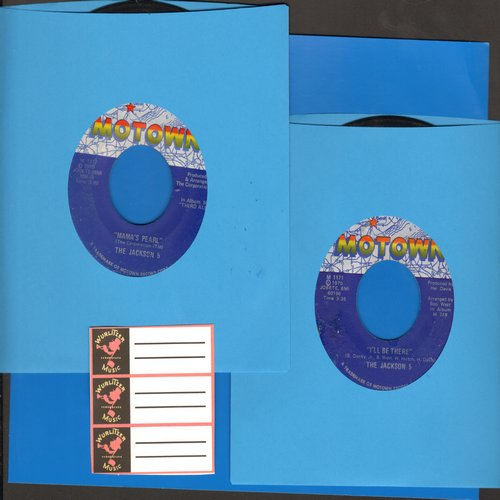 Jackson 5 - 2 for 1 Special: I'll Be There/Mama's Pearl (2 vintage first issue 45rpm records for the price of 1, Shipped in plain white paper sleeves with 3 blank juke box labels) - EX8/ - 45 rpm Records