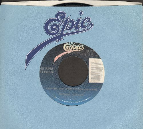 Jackson, Michael - I Just Can't Stop Loving You/Baby Be Mine (with Epic company sleeve) - NM9/ - 45 rpm Records