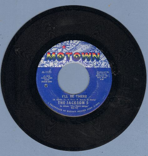 Jackson 5 - I'll Be There/One More Chance (bb) - EX8/ - 45 rpm Records