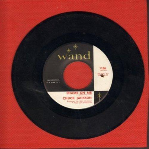 Jackson, Chuck - Shame On Me/Candy (bb) - NM9/ - 45 rpm Records