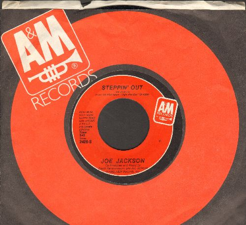 Jackson, Joe - Steppin' Out/Chinatown (with A&M company sleeve) - EX8/ - 45 rpm Records