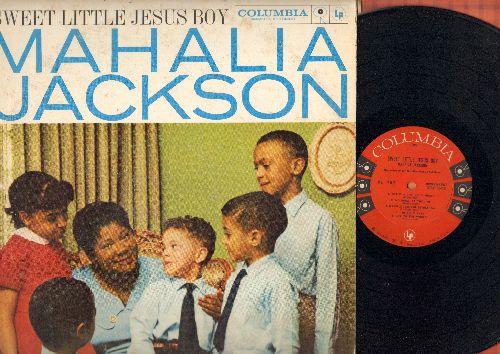 Jackson, Mahalia - Sweet Little Jesus Boy: Silent Night, White Christmas, O Come All Ye Faithful, Joy To The World (vinyl MONO LP record) - EX8/VG6 - LP Records