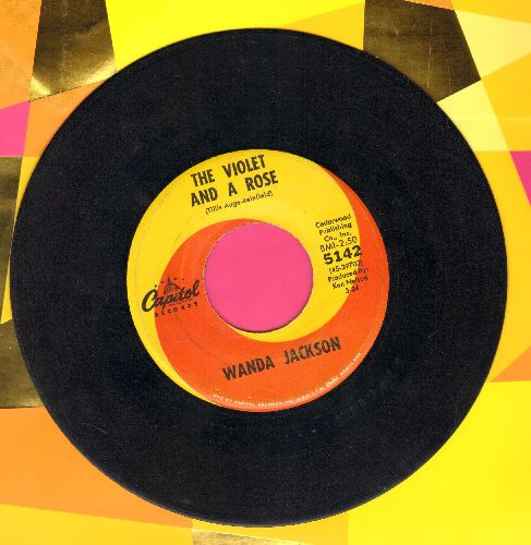 Jackson, Wanda - To Tell You The Truth/The Violet And A Rose  - VG7/ - 45 rpm Records