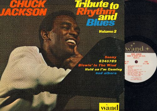 Jackson, Chuck - Tribute To Rhythm And Blues Vol. 2: Sonny, 6345789, Blowin' In The Wind, My Baby Loves Me, Getting Ready Medley (vinyl MONO LP record, NICE condition!) - NM9/NM9 - LP Records