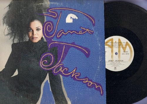 Jackson, Janet - What Have You Done For Me Lateley? (7:00 minutes Extended Mix/6:35 Dub Version/2:19 A Cappella Version) (12 inch vinyl Maxi Single with picture cover) - EX8/VG6 - Maxi Singles