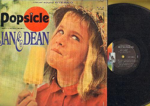 Jan & Dean - Popsicle: She's My Summer Girl, Norwegian Wood, A Surfer's Dream, Surfin' Wild (vinyl STEREO LP record) - NM9/VG7 - LP Records