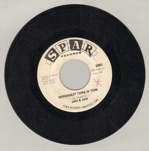 Jake & Josh - Swingingest Thing In Town/Goin' Nowhere (But Out Of My Mind) - EX8/ - 45 rpm Records