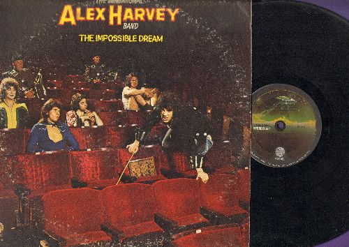 Harvey, Alex Band (The Sensational) - The Impossible Dream: Sergeant Fury, Tomahawk Kid, Long Hair Music (vinyl STEREO LP record) - VG7/VG6 - LP Records