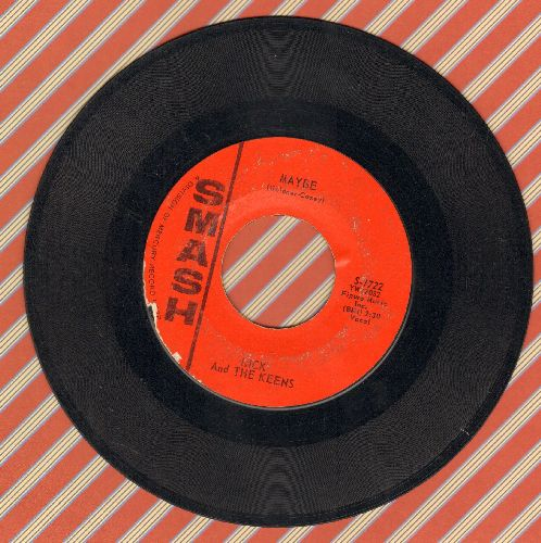 Rick & The Keens - Maybe/Popcorn - VG6/ - 45 rpm Records