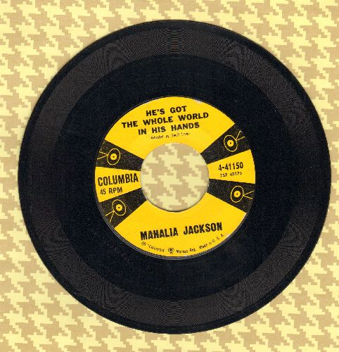 Jackson, Mahalia - He's Got The Whole Word In His Hands/Didn't It Rain  - NM9/ - 45 rpm Records