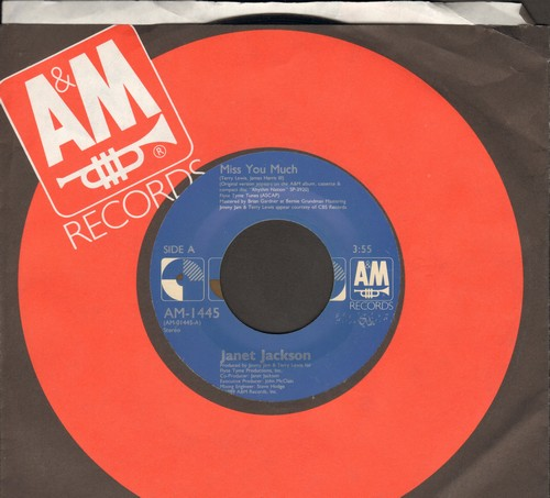 Jackson, Janet - Miss You Much/You Need Me - NM9/ - 45 rpm Records
