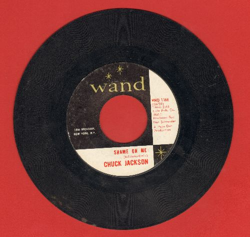 Jackson, Chuck - Shame On Me/Candy  - VG7/ - 45 rpm Records