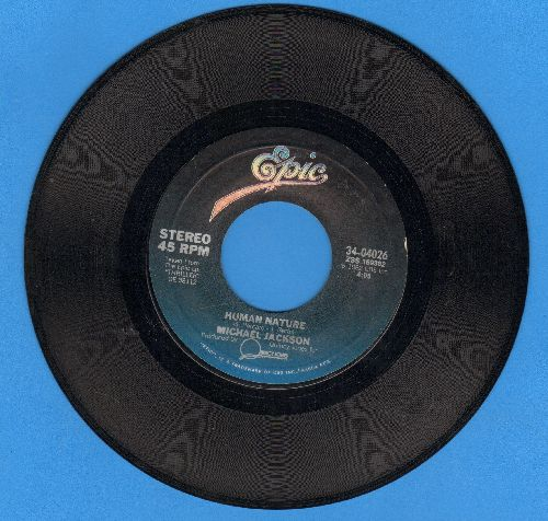 Jackson, Michael - Human Nature/Baby Be Mine  - EX8/ - 45 rpm Records