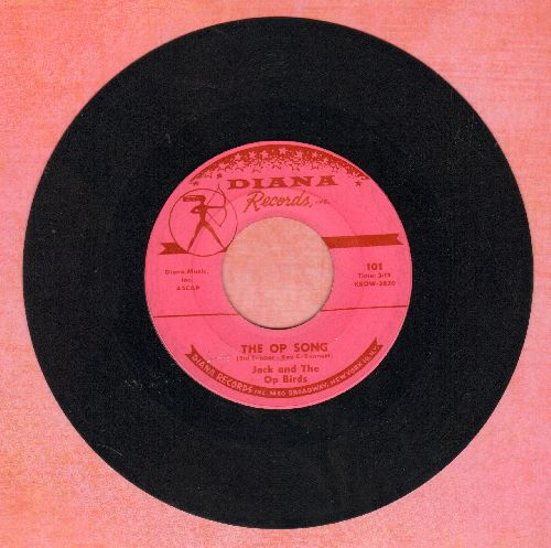 Jack & The Op Birds - The Op Song/The Dreamy Dolls Of Dusseldorf  - EX8/ - 45 rpm Records