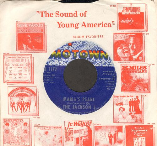 Jackson 5 - Mama's Pearl/Darling Dear (with vintage Motown company sleeve) - NM9/ - 45 rpm Records