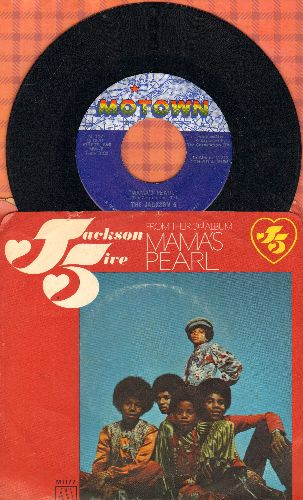 Jackson 5 - Mama's Pearl/Darling Dear (with picture sleeve) - NM9/VG7 - 45 rpm Records